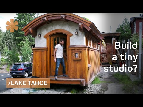 Brothers build green-roofed portable office in Lake Tahoe klip izle
