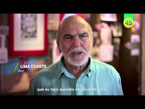 Lima Duarte quer Aécio Neves presidente