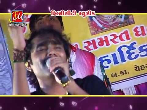 Hu Tamne Puchhu Bhoda Chehar Maa | Gujarati Live Garba 2014 | Nitin Barot Tahukar Bits video
