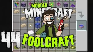 Minecraft: FOOLCRAFT | ROAD TO OP! | #44 | Modded Minecraft