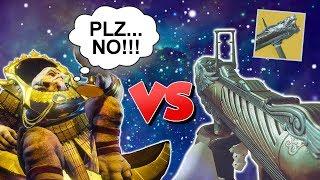 The WORST Gun in Destiny VS Calus...