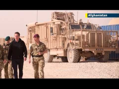 British troops killed in Afghanistan: Taliban IED penetrates UK's Mastiff armoured vehicle