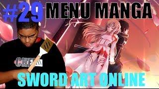 MENU MANGA #29- Sword Art Online : Escroquerie ?
