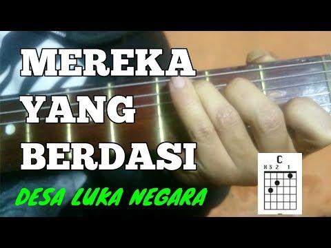 Download  TUTORIAL GITAR MEREKA YANG BERDASI - DESA LUKA NEGARA Gratis, download lagu terbaru