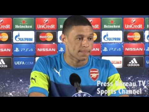 Arsene Wenger & Chamberlain preview Arsenal vs Besiktas