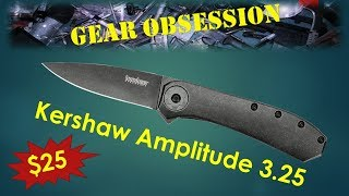 The Blazing Fast Kershaw Amplitude
