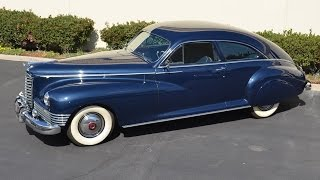 1947 Packard, Custom Super Clipper, Club Sedan, 1 or 20 Extant, Restored, SOLD