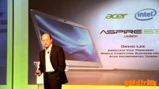 The Launch of Acer Aspire S3 Ultrabook