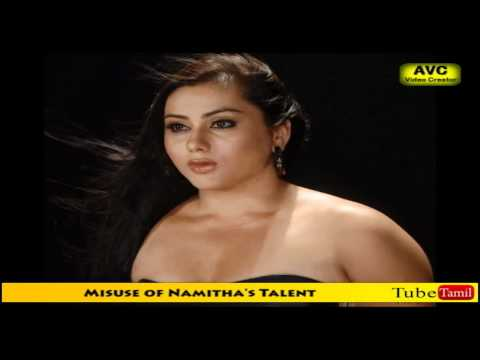 Misuse of Namitha's Talent
