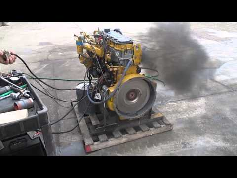 Reman Caterpillar C7 Bench Test
