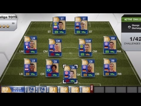 Fifa 13 - BUNDESLIGA TOTS - Hunting for Blues Part 1
