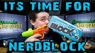 Unboxing my July 2014 Nerd Block - Warning: You Might Laugh!
