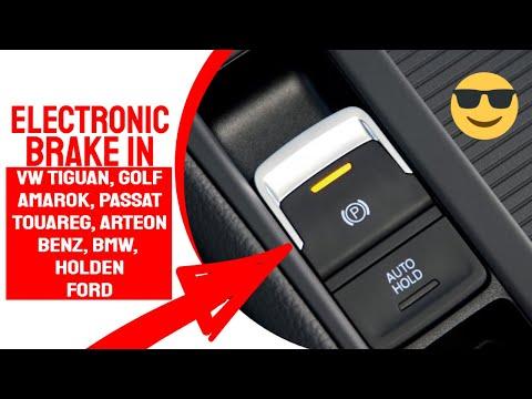 Electronic Park Brake On Volkswagen Tiguan Youtube