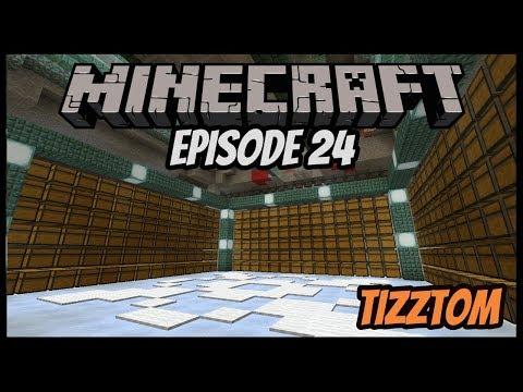 Mega Guardian Farm Storage!!! - Tizztom Plays (Minecraft 1.13.1 Survival Let's Play) Episode 24