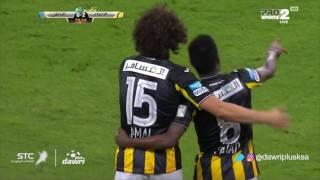 هدف الاتحاد الثانى ضد الباطن (فهد المولد ) في الجولة 8 من دوري جميل
