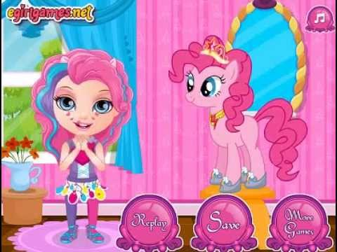 My Little Pony showers - Bathing Barbie Girls Games