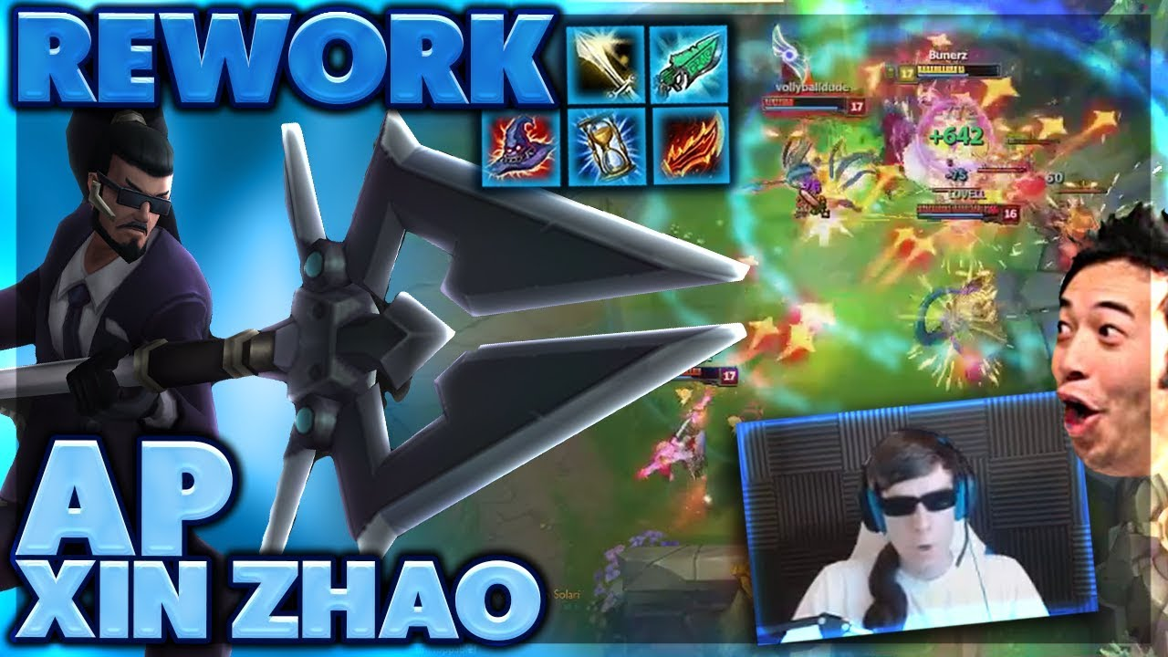 I HEAL FOR SO MUCH...WTF   I TAKE TOWERS WITH NO MINIONS   AP XIN ZHAO REWORK - BunnyFuFuu
