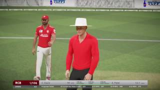 IPL 2017... 8th Match... RCB vs KXIP..  T20 .. Live...  Don Bradman Cricket 2017