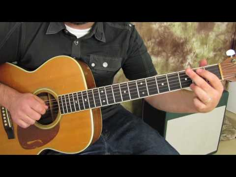 Led Zeppelin - Over the Hills and Far Away - Acoustic Guitar lesson - How to Play Video