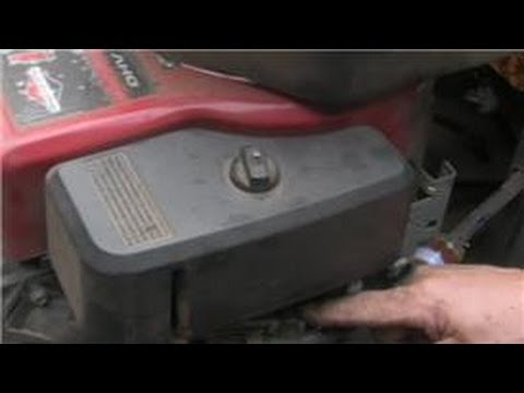 Lawn Mower Repair : Troubleshooting Carburetor Problems in a Riding Lawn Mower