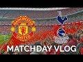 FA Cup Semi Final Vlog | Manchester United 2 1 Tottenham | Alexis & Herrera Score!