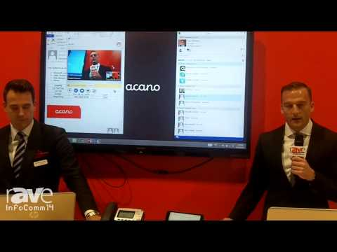 InfoComm 2014: Acano Demonstrates its Video, Audio, and Web Integration Through Microsoft Lync