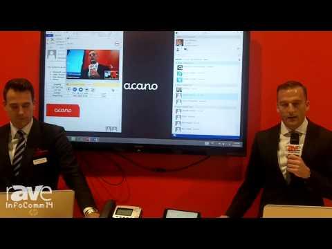 InfoComm 2014: Acano Demonstrates its Video, Audio, and Web Integration Through Microsoft Lync