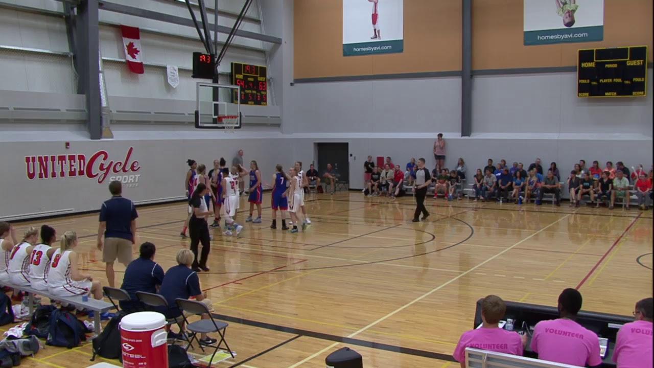 U17 Girls - Alberta vs. British Columbia