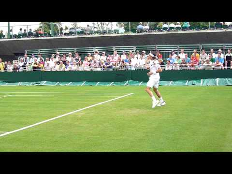 Juan Monaco Wimbledon 2009 Video