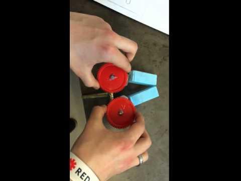 Mechanics of 4 linkage grabber