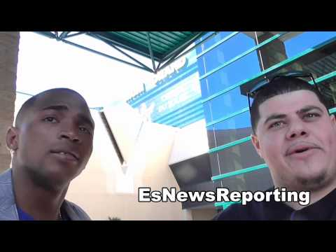 lara on mayweather vs maidana EsNews Boxing