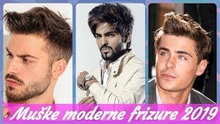 Top 20 🎮 najmodernije muške moderne frizure 2019
