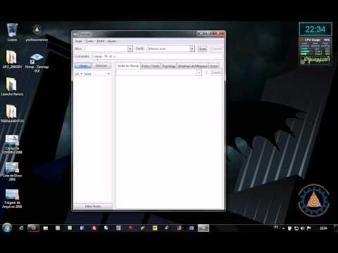 Nmap - Scanner de Rede - Zenmap 5.50 para Windows - www.professorramos.com