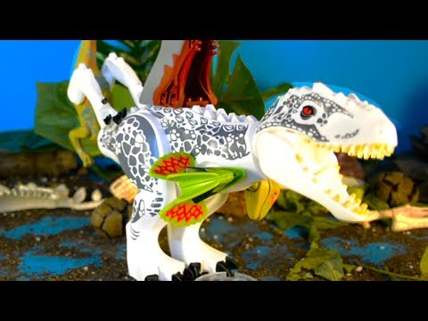 ЛЕГО ДИНОЗАВРЫ - Дракозавр против Ти-Рекса! 1 серия. Мультики для детей. Выбирай Приз!