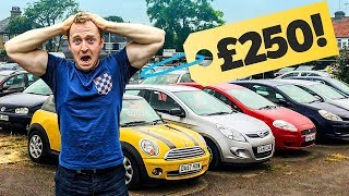 £250 Cheap Car Challenge