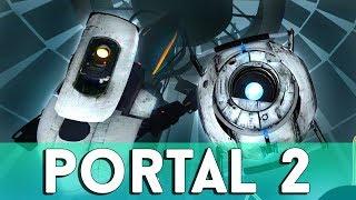 Ломаем голову в Portal 2 ft. Terkasto