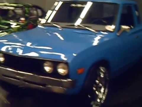 camioneta datsun dub y maverick para arrancones - YouTube