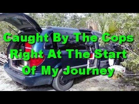 E46 Park Ranger and Police Encounter in Minivan Camper - Van Dwelling Van Dwelling Vanlife