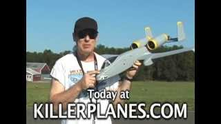 DYNAM A 10 WITH RETRACTS AND KILLER PLANES CRASHPROOFING PART 2