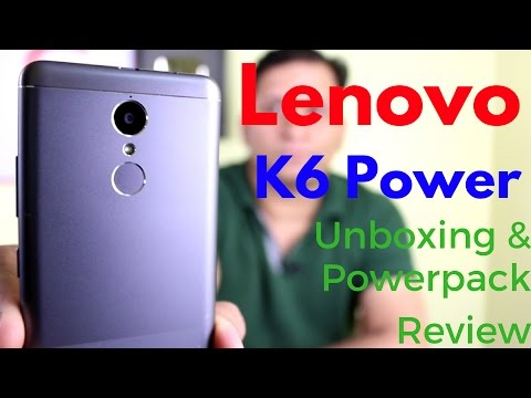 Hindi | Lenovo K6 Power Unboxing & Powerpack Review - New Budget Killer | Sharmaji Technical