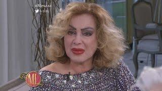 Beatriz Salomón se quebró en la mesa de Mirtha Legrand