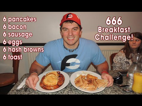 Leicester's BIGGEST Breakfast Challenge at Jones' Cafe | Randy Santel