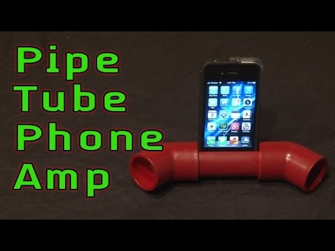 Pipe Tube Phone Amp!