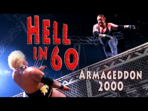 60 Seconds In Hell - 6-pack Wwe Championship Match - Armageddon 2000 video