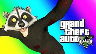 GTA 5 Online Random Moments - Kill List, Muggers, Pool Skydiving!