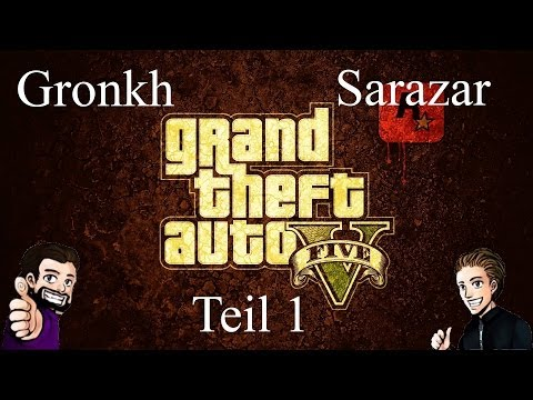 Best of Gronkh & Sarazar - GTA Online - Teil 1  [Full-HD]
