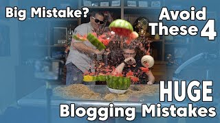 Don't Make These 4 Mistakes in Your First Year of Blogging