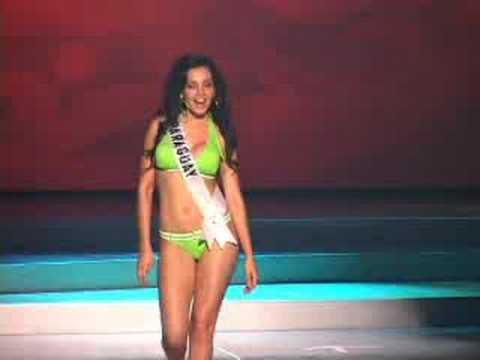 Paraguay - Miss Universe 2008 Presentation - Swimsuit