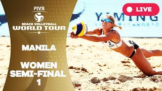Manila - 2018 FIVB Beach Volleyball World Tour - Women Semi Final 1