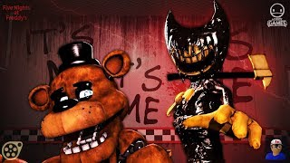"""FREDDY'S NIGHTMARE"" [FNAF/BATIM SFM] Song ""Can't Be Erased"" by JT Music"